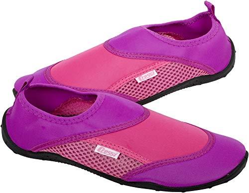 Cressi Coral Shoes, Scarpette Adatte per Mare, Spiaggia, Barca e Sport Acquatici Vari Unisex Adulto, Lilla/Rosa, 37