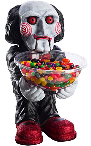 Rubie's Offizielles Säge Billy Mini Candy Bowl, Sweet Holder, Halloween Trick or Treat Zubehör Candy Dish Holder
