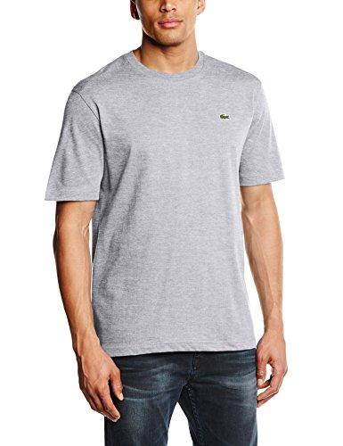 Lacoste Herren T-Shirt TH7618-00, Gr. X-Large (Herstellergröße: 6), Grau (SILVER CHINE CCA)