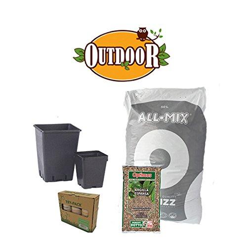 Kit de culture 2 plantes bio – Outdoor + offert