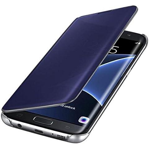 Ouneed® Samsung Galaxy S7 Case - Coperchio Di Lusso Specchio Caso Sottile Case Cover,Coperchio Di Lusso Specchio Caso Sottile Custodia Case Cover Per Samsung Galaxy S7 , Nero/Blu/ Blu Scuro/Oro/Argento
