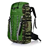 Suntop Trek 65L (with Internal Frame) Travel Bag Backpacking Backpack for Outdoor Hiking