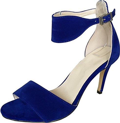 Salabobo , Bride de cheville femme Bleu