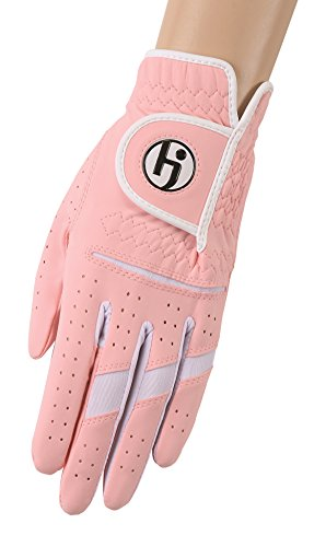 HJ Glove Damen-Golf-Handschuhe Gripper II für die rechte Hand, Damen, M-33P II-Cotton Candy-LRH-S, Cotton Candy, S Womens Gripper Gloves