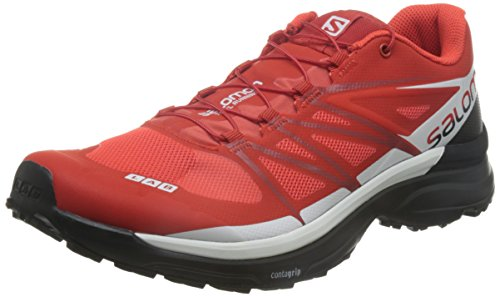 Salomon L39121500, Zapatillas de Senderismo Unisex Adulto, Rojo (Racing Red / Black...