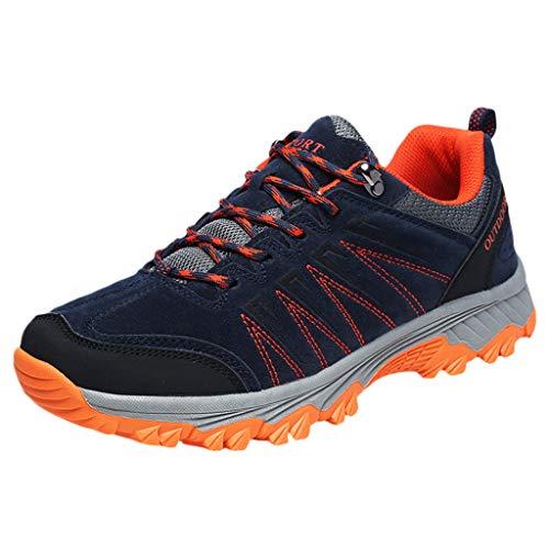 Vovotrade Donna Uomo Scarpe Antinfortunistiche Sportive Trekking Stivali da Montagna Stivali da Lavoro in Punta di Piedi Scarpe da Trekking Scarpe Antinfortunistiche estive Antiscivolo