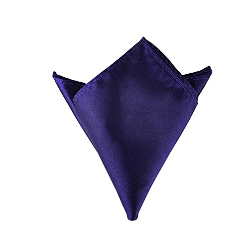 Sitong Hommes Solid Color Pocket Squares Mouchoirs de mariage 23