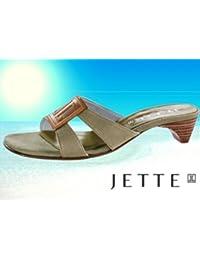 Traum Damen Jette Joop Logo Sandale Khaki