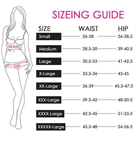 K-cheony Comfort Damen Hoher Taille Baumwolle Unterwäsche Weiche Slip Panty Regular und Übergröße - - Mittel - 7