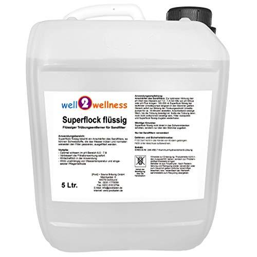 flockmittel pool Superflock flüssig/Flockmittel flüssig 5,0 l