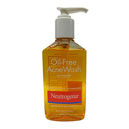 Neutrogena Oil Free Acne Wash 180ml, 6 Fluid Ounce