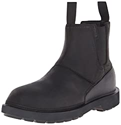 crocs Mens Breck M Boot, Black/Black, 9 M US