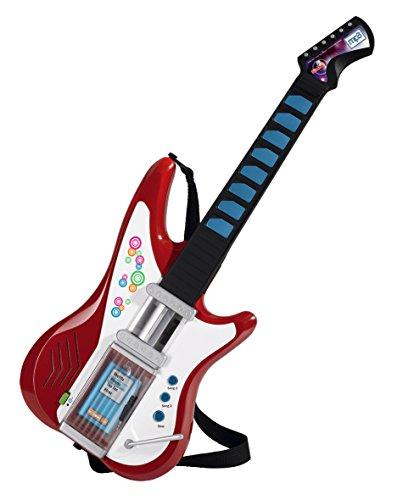 Simba 106838628 - My Music World Light Guitar mit MP3 Funktion