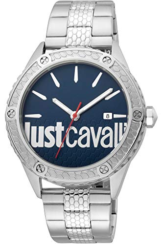 Reloj Just Cavalli Audace JC1G080M0065 - Analógico Cuarzo para Hombre en Acero Inoxidable