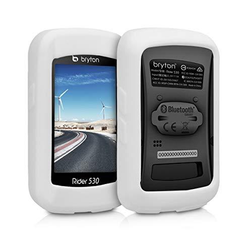 kwmobile Funda para Bryton Rider 530 - Carcasa de Silicona para GPS...