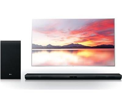 LG SH4D 2.1 Wireless Sound Bar 300 W - Black - Wireless subwoofer