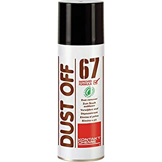 206210 Dust Off 67 HELL Druckluft-Spray DRUCKLUFT67(200) Mehrfarbig