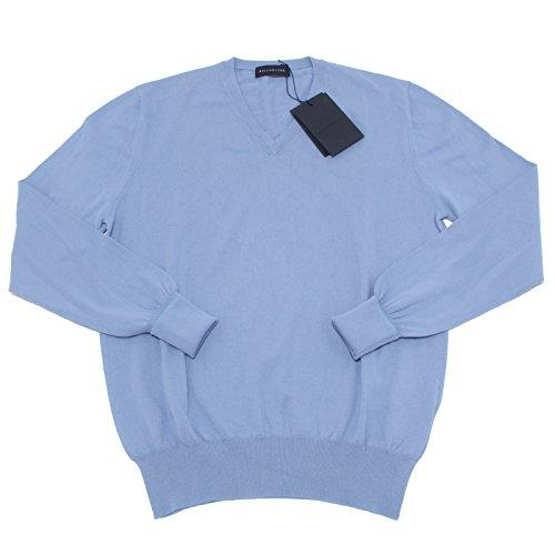 6699M BALLANTYNE maglione uomo blu cotone jumper men [50]