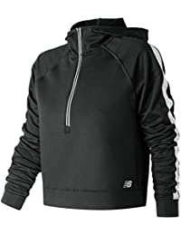 30a8b7107e259 Amazon.co.uk: New Balance - Hoodies / Hoodies & Sweatshirts: Clothing