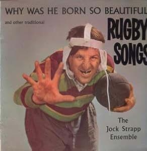 WHY WAS HE BORN SO BEAUTIFUL LP UK SPORTSDISC 0 (ILP1009)
