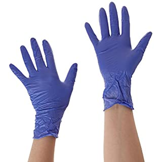 Ansell Microtouch AJ700102 NITRILE GLOVES SML (Pack of 100)