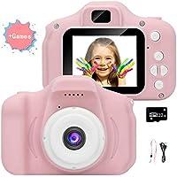 Cámara para niños, cámara de Video/Video 1080p HD, Pantalla LCD de 2 Pulgadas, Viene con una Tarjeta de Memoria 32G-49