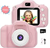Cámara para niños, cámara de Video/Video 1080p HD, Pantalla LCD de 2 Pulgadas, Viene con una...