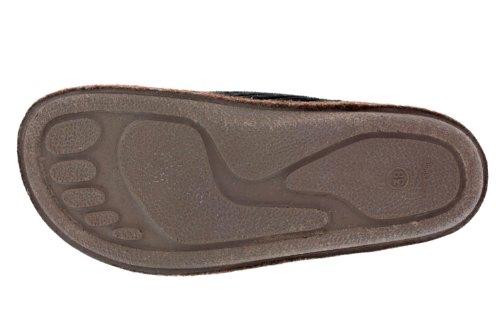 Andres Machado.AM001.AUTHÉNTIQUES chaussons MADE IN SPAIN Unisex.Petites et Grandes Pointures. 26/50 Velours Côtelé Marron