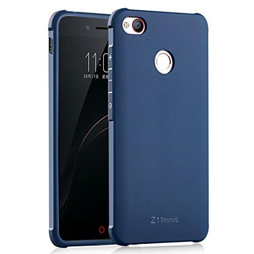 COVO® Festigkeit & Flexibilität Zurück Cover Style Smartphone Hülle für Nubia Z11 Mini S (Blau)