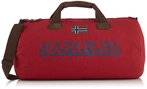 Napapijri BERING A, Borsa a spalla Unisex - adulto, Rosso (Rot (OLD RED 094)), 60x32x32 cm (B x H x T)