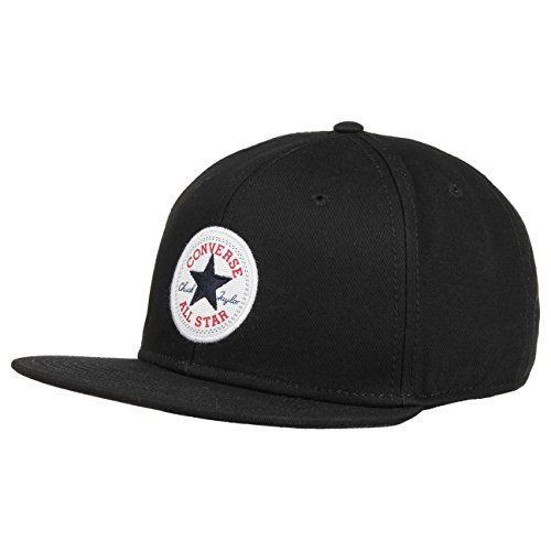 Converse Cons Schwarz All Star Snapback Twill Cap (Hat Patch Converse)