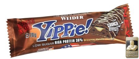 Weider Yippie! Bar 24 x 70g Riegel Mix-Box