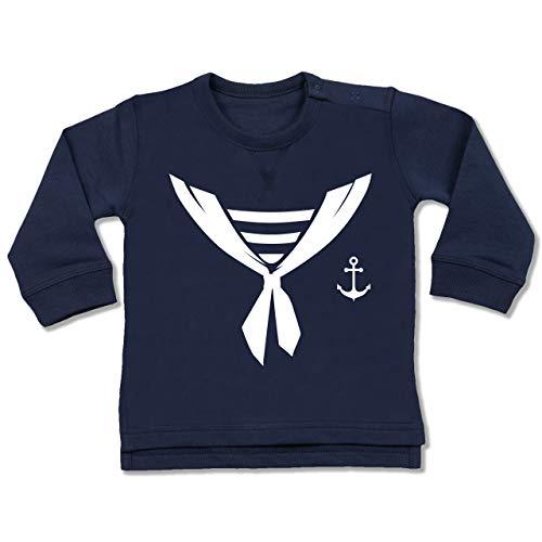 Shirtracer Karneval und Fasching Baby - Seefahrer Halstuch Kostüm - 18-24 Monate - Navy Blau - BZ31 - Baby ()