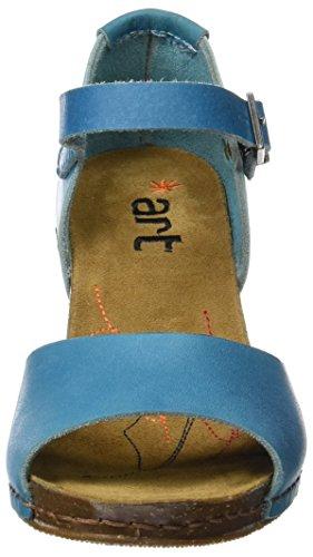 ART 0145 Mojave i Meet, Scarpe Col Tacco con Cinturino a T Donna Blu (Albufera)
