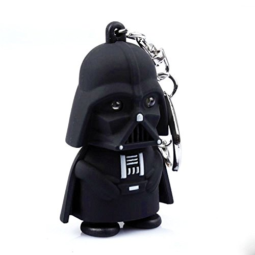 Portachiavi Darth Vader di Star Wars che si illumina e fa rumore - High Quality