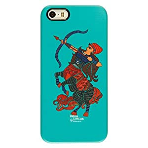 Sagittarius-the Archer-Plastic Hard Shell-iPhone 5/5s Cover
