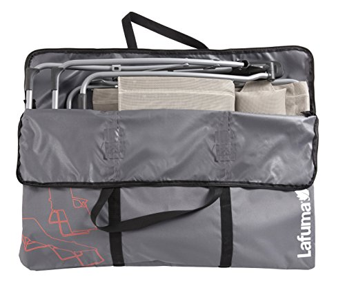 Lafuma Transporttaschen für alle Hochlehner und Siesta-Sonnenliege L, anthrazit