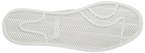 Esprit Gwen Lace Up, Baskets Basses femme Blanc - Weiß (100 white)
