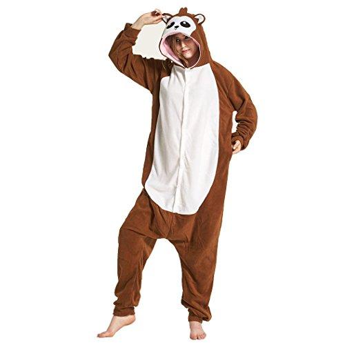 ma Erwachsene Unisex Schlafanzug Pavian Jumpsuit , XL: (height 178-188cm) (Pavian Kostüme)
