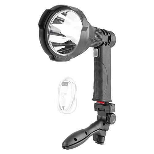 koulate Hohe helle Taschenlampe, tragbare USB-wiederaufladbare L2-Lampenperle für Studio Meadow Patrol, ideal zum Wandern von Camping-Ausrüstung für den Innen- und Außenbereich