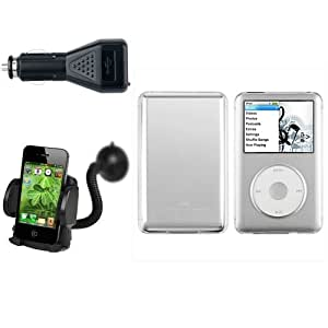 Crystal H ¨ ¹ lle + Voiture ladeger ? T + Support voiture F ¨ ¹ R iPod Classic 80 GB/120GB/160GB