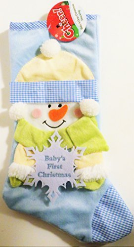 Baby's First Christmas Stocking (Blue) by Cheer