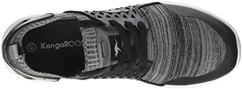 Canguro Damen W-481 Kids S Sneaker Schwarz (nero Jet / Grigio Acciaio)