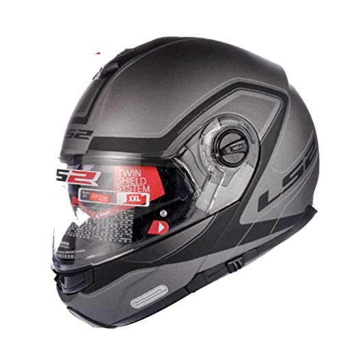 acing Motocross Helme Abs Material Doppel Objektiv Mountain Road Motorrad Helm Sicherheit Stoßfest Vollgesichts Racing Helme Jahreszeiten Universal ()
