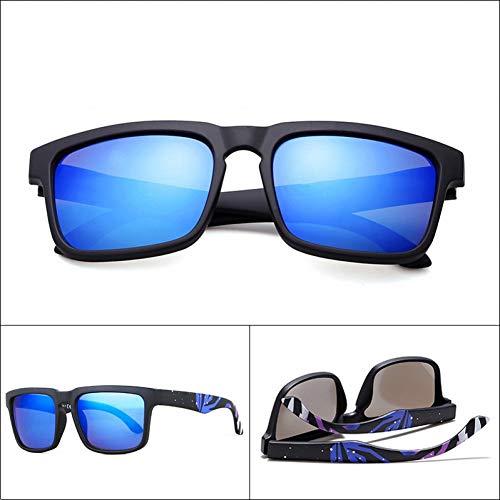 CCGKWW Sonnenbrille Herren Square Frame Classic Markendesigner Driving Male Sun Glasses Shades Oculos