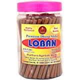 PRARTHANA Loban Dhoop Sticks Charcoal Free/Pollution Free, Box Pack (200 GM)