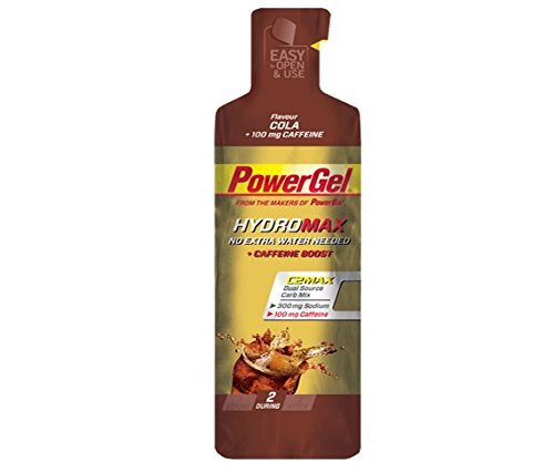 Gel Energético Power Gel HydroMax PowerBar 24 Geles x 67ml Cola