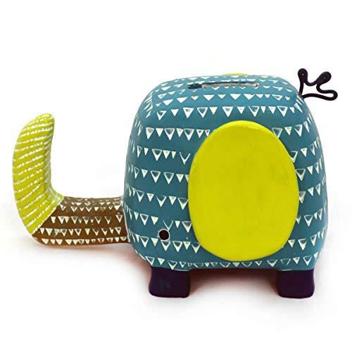 Gall&Zick Niños Animales Hucha Hucha Decorativa polirresina (Selección), Elefante