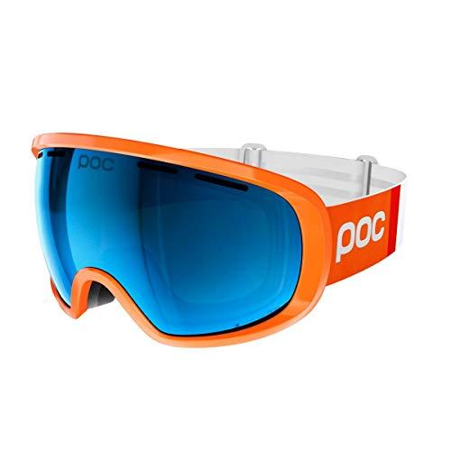 POC Sports Fovea Clarity Comp Schwimmbrille Zink Orange/Spektris Blue, Einheitsgröße