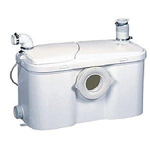 Setma Hebeanlage Watersan+ für WC und 3 weitere Einläufe für Dusche, Waschtisch, Bidet, Urinal mit noch mehr Leistung